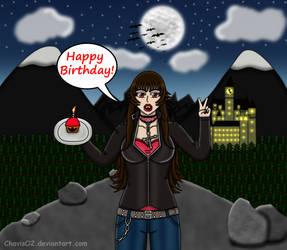 Birthday Gift: Mochii-Queen by ChavisO2