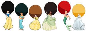 Afro Disney Princesses