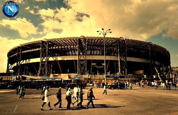 Stadio San Paolo (Napoli/Naples) by ElMatadorCavani