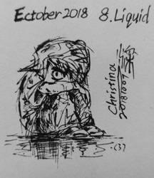 Ectober 2018: 8. Liquid by Rexy2000