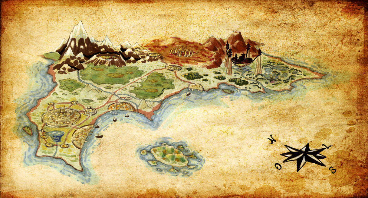 Aria concept world map by inarispellborn on deviantart aria concept world map by inarispellborn gumiabroncs Image collections