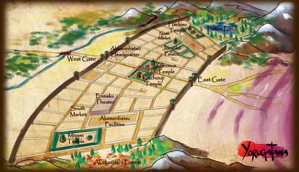 Akadomei Map