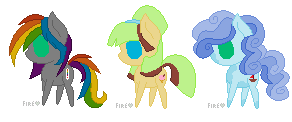 My Little Pony Adoptables -1 left- by SpiritsAdoptables
