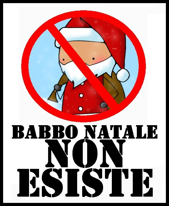 Esiste Babbo Natale Si O No.Babbo Natale Non Esiste By 000ilsognatore000 On Deviantart