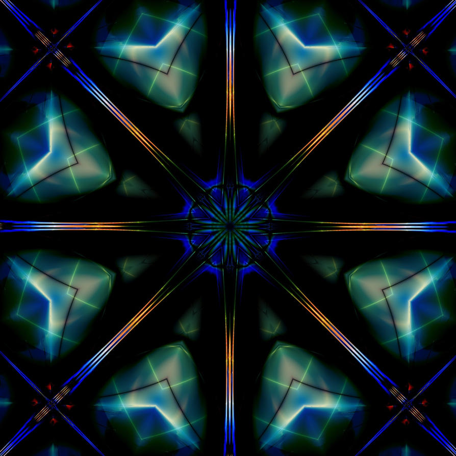 Simple Kaleidoscope by BrotherNumsi