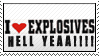 I love Explosives by thefasman22