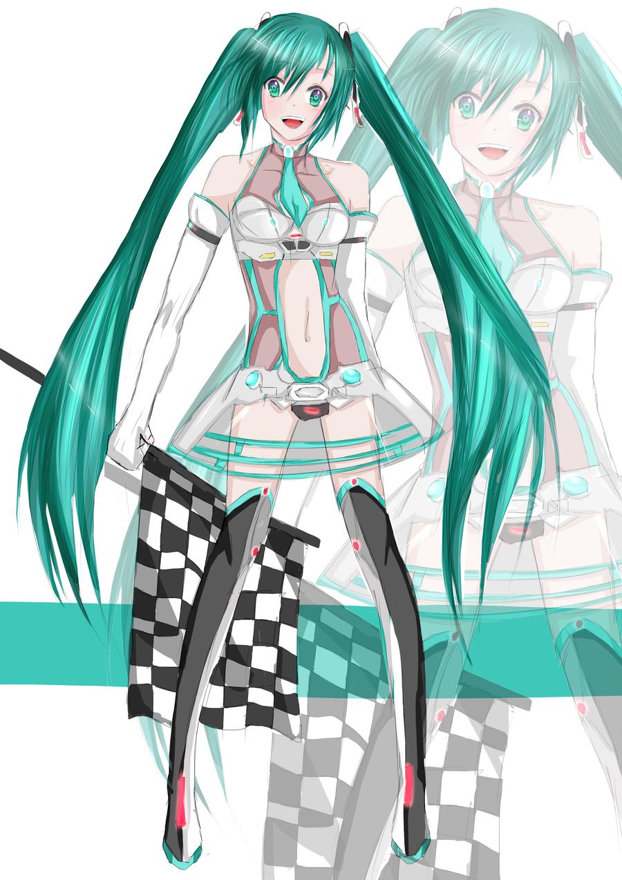 hatsune miku wallpaper outfits - photo #3