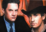 Agent Cooper and Sheriff Truman (Twin Peaks)