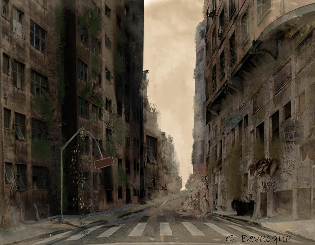 Cidade abandonada / Abandoned City by GabrielBevacqua-Arts on ...