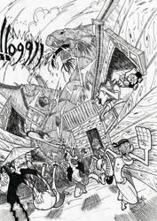 chini lake's dragon by manusia89