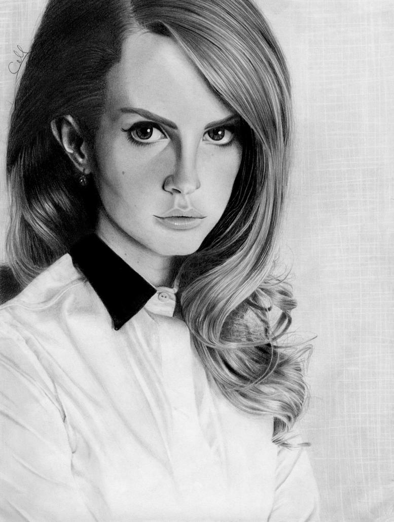 Lana Del Rey by XiiiBeatoSensei