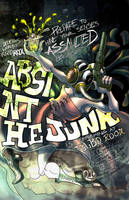 Absinthe Junk Poster Collab by junobean