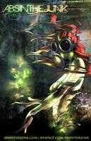 Absinthe Assassin Poster by junobean