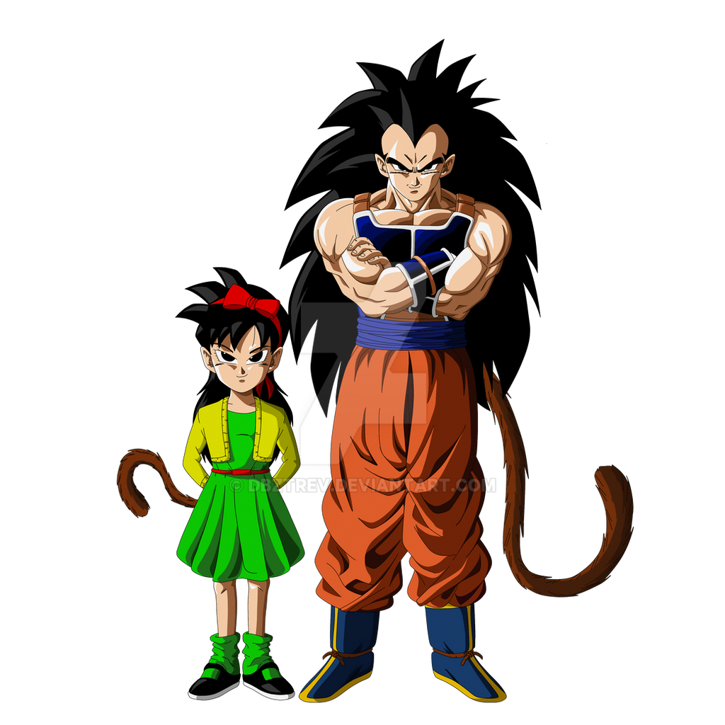 Ranch and Raditz by DBZTrev on DeviantArt