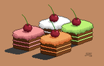 My First Pixel Cake