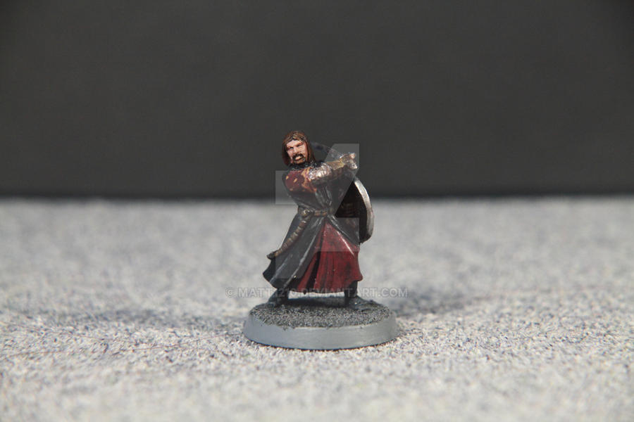 Warhammer Lord of the Rings Boromir by Matt1210