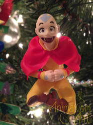 Avatar: The Last Airbender-Aang Ornament by AnimaxiomArt