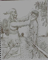 Creation of Adam / Creacion de Adan by ll-Bisto-ll