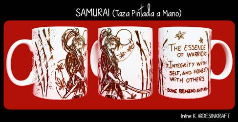 Samurai Cup by Desinkraft