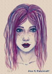 Red-Girl-Y by Desinkraft