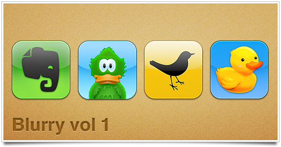 Extra icons inspired by Flurry by apporacle
