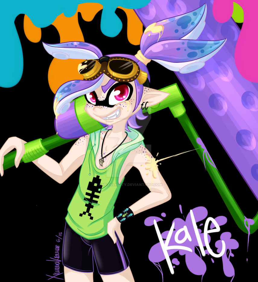 I wish that I could be like the squid kids by xMetalKitty