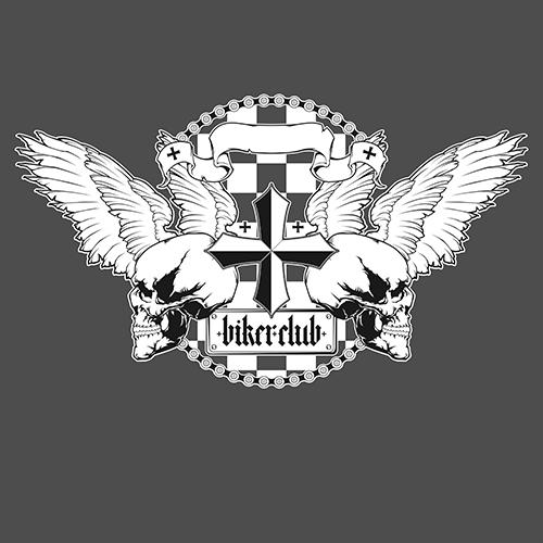 Biker club emblem. by romaxa11