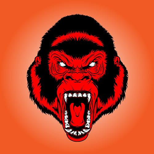 Cool Red Monkey by romaxa11