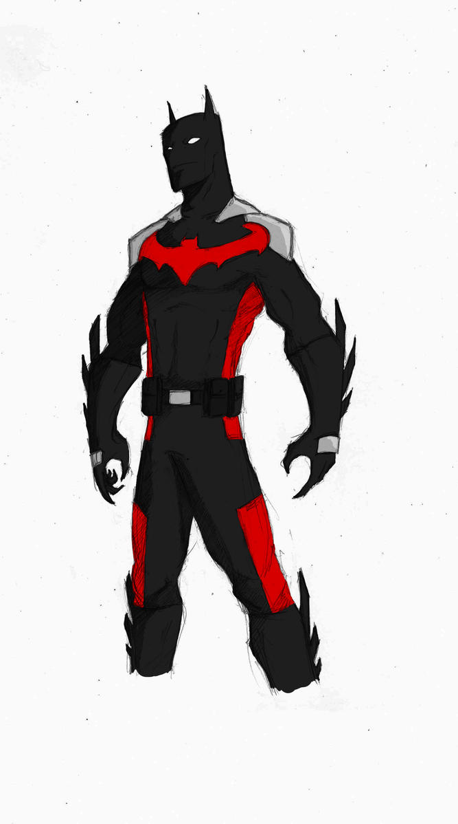 Batman Beyond Redesign - Color by TheoDJ on DeviantArt