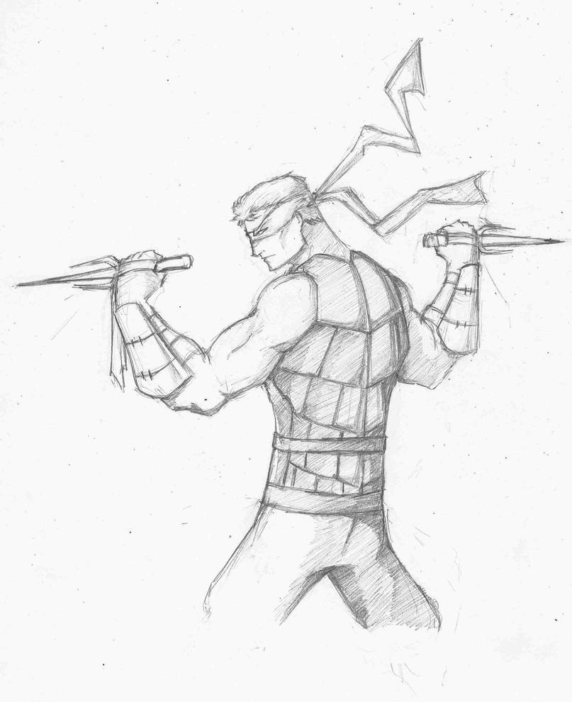Teenage Mutant Ninja Humans - Raphael by TheoDJ on DeviantArt