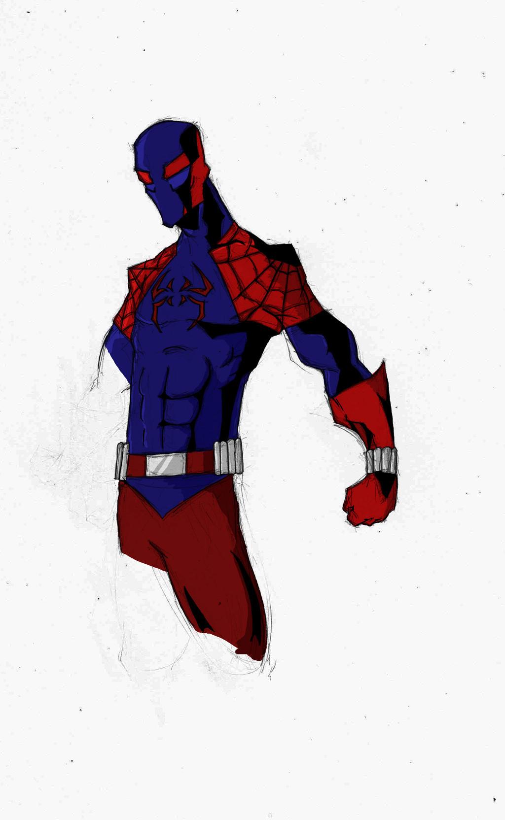 Как сделать маску человека паука 2099