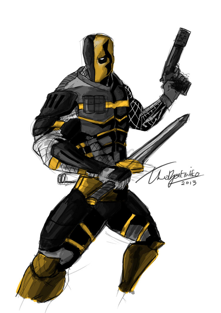 Deathstroke Redesign by TheoDJ on DeviantArt