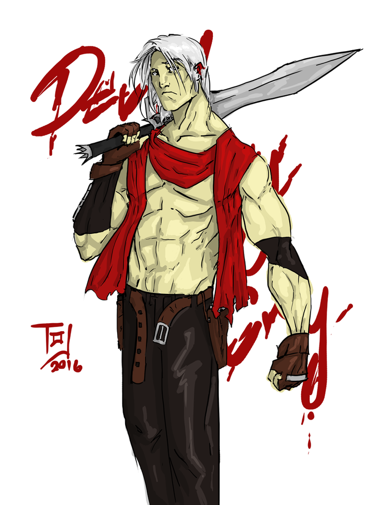 Dante Redesign (Devil May Cry) by TheoDJ