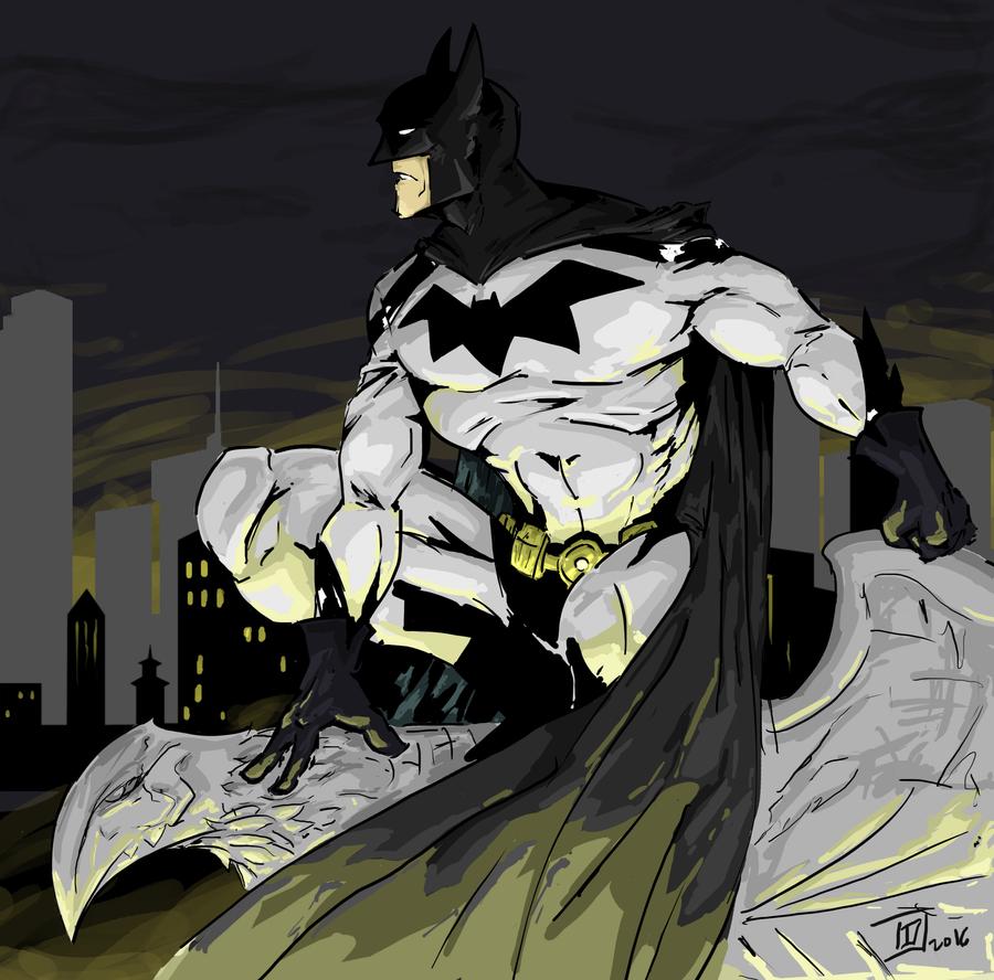 Batman Redesign by TheoDJ