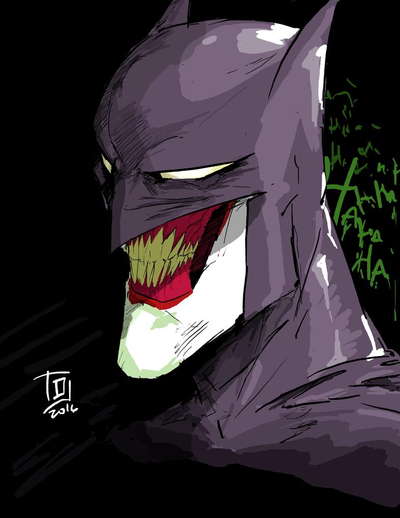 BatJoker by TheoDJ