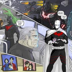 Terry McGinnis Batman by TheoDJ