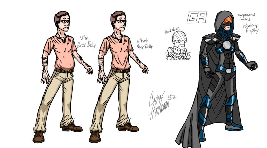 For Sale By Superhero Character Designs by Ceehoff on DeviantArt
