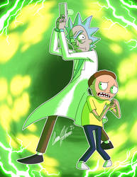 Rick and Morty Forever 100 Years!