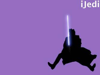 iJedi wallpaper, Obi-Wan by randompenguin