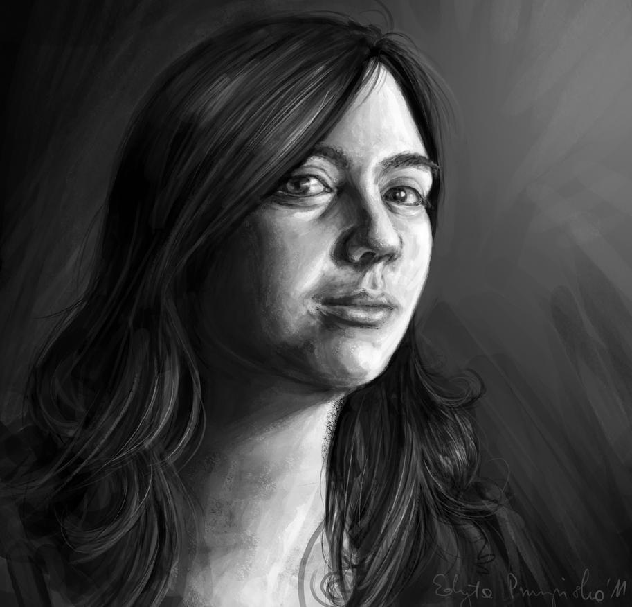Autoportrait by athyde