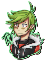 Fanart -Ted (Z-T00N) by MadokaMG
