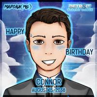 Connor Birthday!!! by MadokaMG