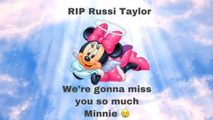 We will Miss you Russi Taylor :,(