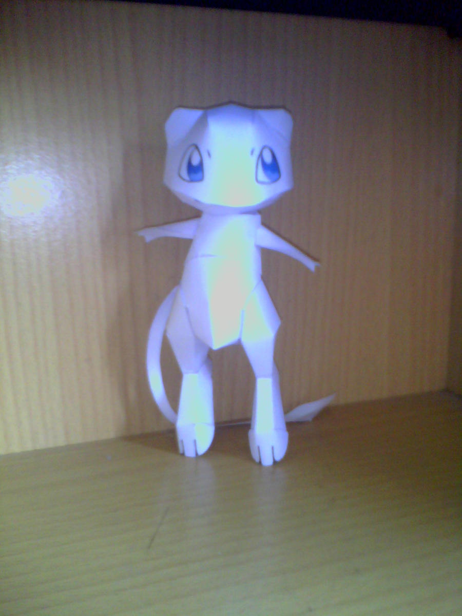 mew papercraft by turtwigcuTey