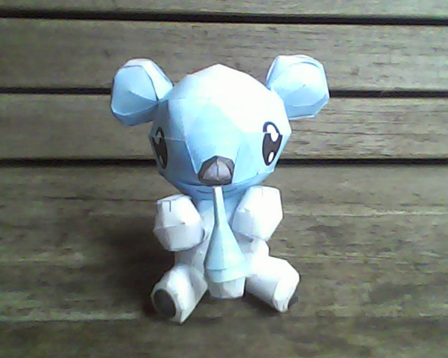 cubchoo papercraft by turtwigcuTey