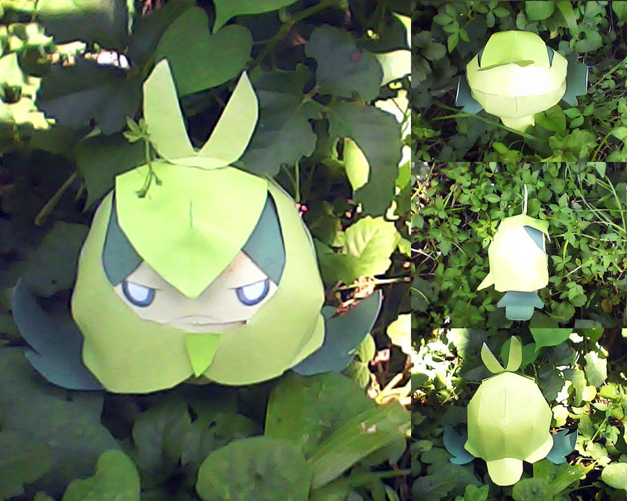 swadloon papercraft by turtwigcuTey
