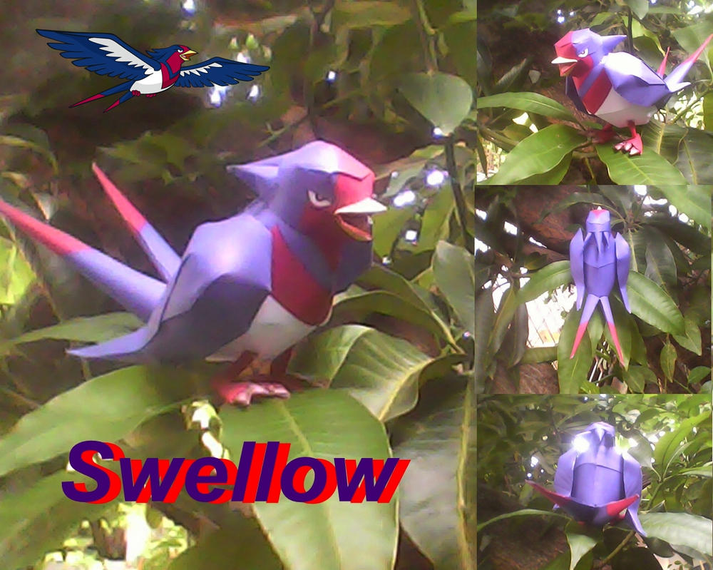 Swellow by turtwigcuTey