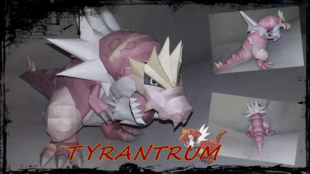 Tyrantrum V2 by turtwigcuTey