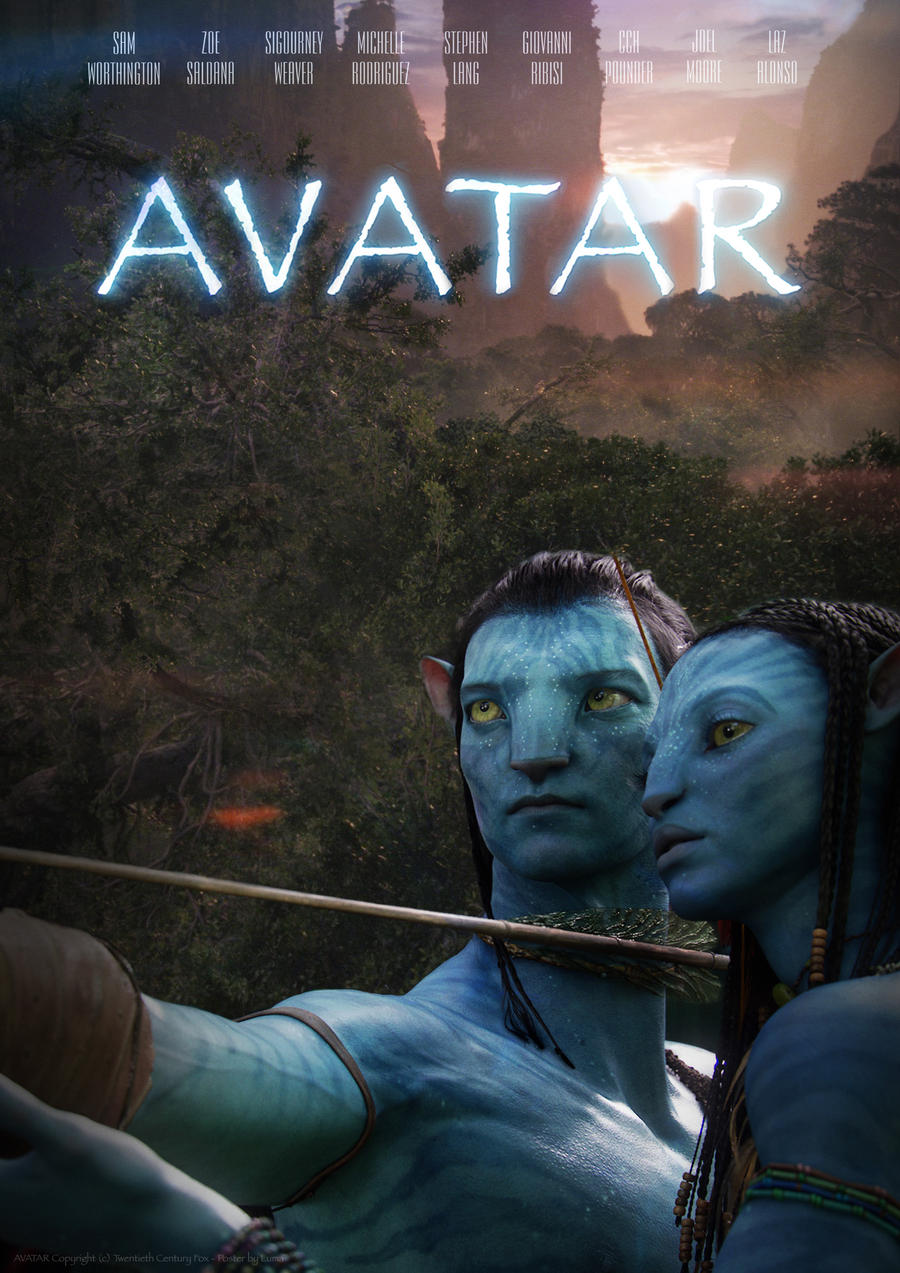 Avatar poster b by incerazo on deviantart - Avatar poster ...