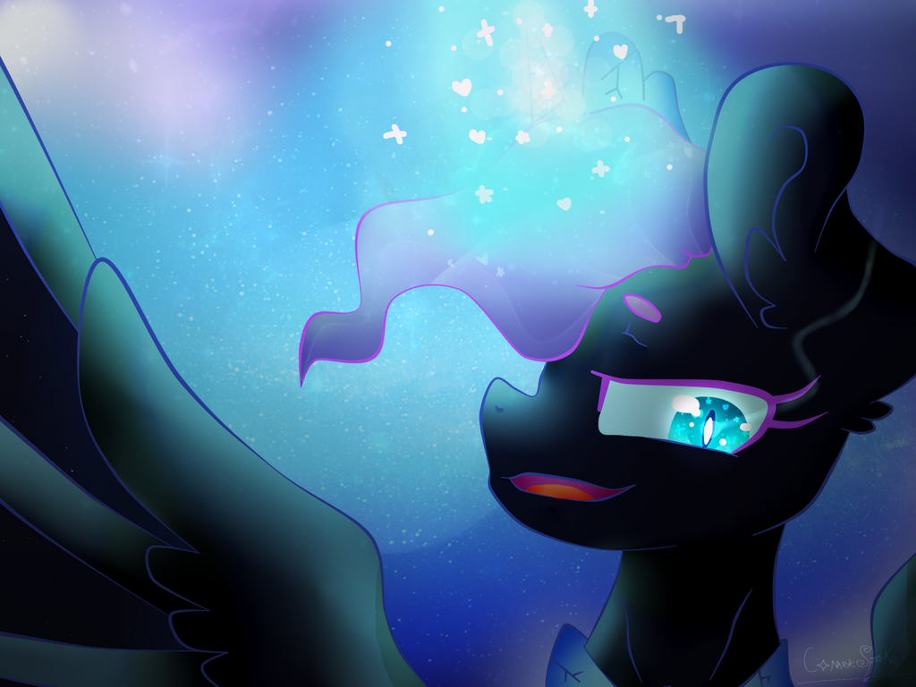 [Contest] Nightmare Moon by CometSparke